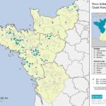 Synthèse des données de suivis post-implantation d'éoliennes dans le Grand Ouest.