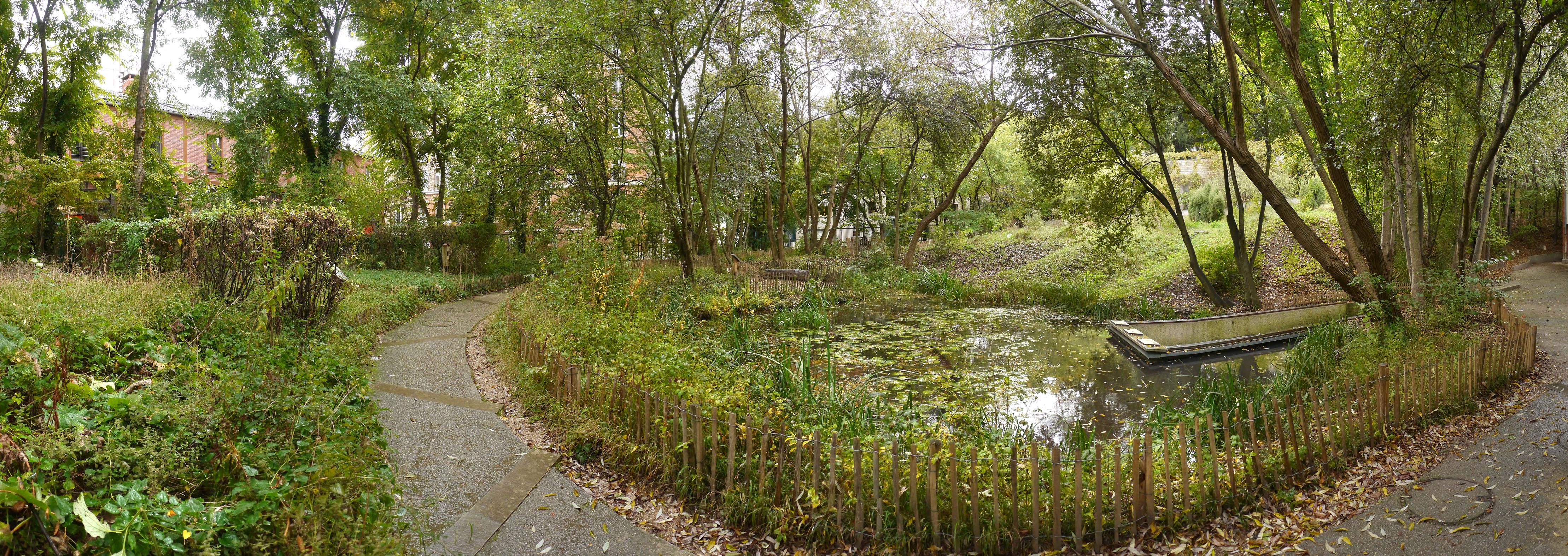 Le Jardin Naturel Pierre Emmanuel Un Espace Ecologique Cree Dans